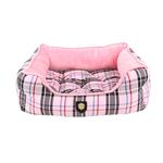 View Image 4 of Junior House Dog Bed by Puppia - Pink