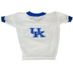 Kentucky Wildcats Dog Jersey - White