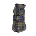 View Image 3 of Kodiak Dog Coat - Blue Plaid