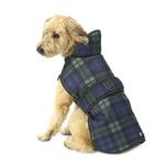 View Image 1 of Kodiak Dog Coat - Green Plaid