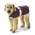 View Image 1 of Kodiak Dog Coat - Plum & Tan