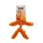 View Image 3 of KONG BraidZ Dog Toy - Fuzzy Monkey