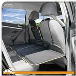 View Image 3 of Kurgo Backseat Bridge - Reversible Black/Khaki