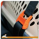 View Image 2 of Kurgo Pet Carrier Keeper Car Straps - Black