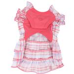 View Image 2 of Kyria Dog Dress by Pinkaholic - Pink
