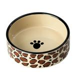 View Image 1 of Leopard Buzz Dog Bowl
