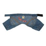 View Image 2 of 'Let's Ride' Biker Denim Dog Pants