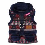 View Image 3 of Little Snow Flirt Dog Harness by Pinkaholic - Navy
