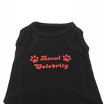 View Image 1 of Local Celebrity Dog Shirt - Black