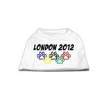 View Image 1 of London 2012 Dog Shirt - White
