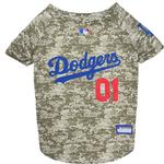 Los Angeles Dodgers Dog Jersey - Camo