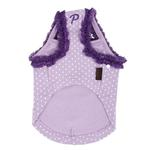 View Image 2 of Love Dog Shirt by Puppia - Light Violet