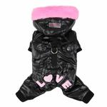View Image 3 of Love Party Dog Jumpsuit by Pinkaholic - Black
