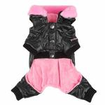 View Image 2 of Love Party Dog Jumpsuit by Pinkaholic - Black