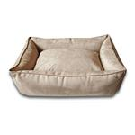 Luca Lounge Dog Bed - Camel