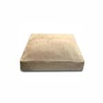 View Image 1 of Luca Traditional Rectangle Dog Bed - Camel