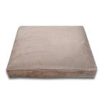 View Image 1 of Luca Traditional Rectangle Dog Bed - Earth