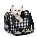 View Image 1 of M. Isaac Mizrahi Gingham Dog Carrier