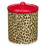 View Image 2 of M. Isaac Mizrahi Treat Canister - Leopard