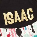 View Image 3 of M. Isaac Mizrahi Paint Splatter Dog Pullover
