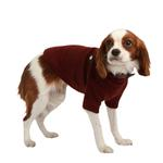 View Image 3 of Maddox Dog Sweater by Puppia - Wine