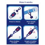 View Image 3 of MagicLatch Dog Leash Connection System - Blue