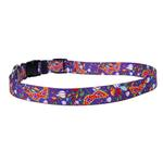 Mardi Gras Dog Collar by Yellow Dog