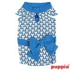View Image 1 of Martina Dog Dress by Puppia - Blue