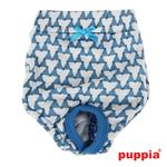 View Image 1 of Martina Dog Sanitary Panty by Puppia - Blue