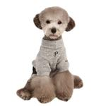 View Image 1 of Meek Dog Jumpsuit by Puppia - Gray