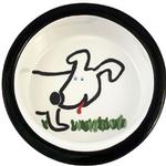 View Image 1 of Melia Dog Front Ceramic Dog Bowl