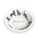 Meow Meow Cat Saucer by TarHong - White