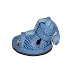 View Image 2 of Mesh Dog Sandals - Blue