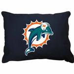 View Image 1 of Miami Dolphins Dog Bed