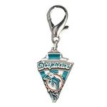 View Image 1 of Miami Dolphins Pennant Dog Collar Charm