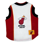 View Image 1 of Miami Heat Dog Jersey