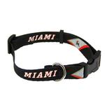 View Image 1 of Miami Marlins Baseball Printed Dog Collar