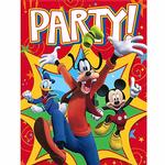 Mickey Mouse Party Supplies - Postcard Invitations