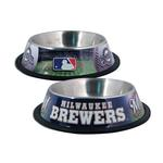 View Image 1 of Milwaukee Brewers Dog Bowl