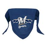 Milwaukee Brewers Mesh Dog Bandana
