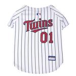 Minnesota Twins Officially Licensed Dog Jersey - Pinstripe
