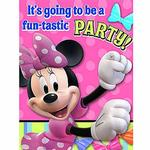 Minnie Mouse Party Supplies - Postcard Invitations