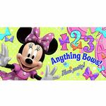 Minnie Mouse Party Supplies - Wall Banner