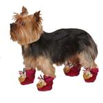 View Image 1 of Monkey Business Dog Slippers - Tiff