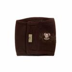 View Image 1 of Monkey Daze Dog Belly Band - Brown