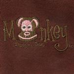 View Image 2 of Monkey Daze Dog Belly Band - Brown