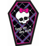 Monster High Party Supplies - Postcard Thank you Notes