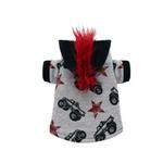 View Image 1 of Monster Truck Mohawk Hoodie by Hip Doggie