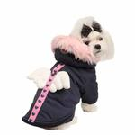 View Image 2 of Morning Star Dog Coat by Pinkaholic - Navy
