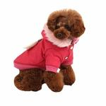 View Image 3 of Morning Star Dog Coat by Pinkaholic - Pink